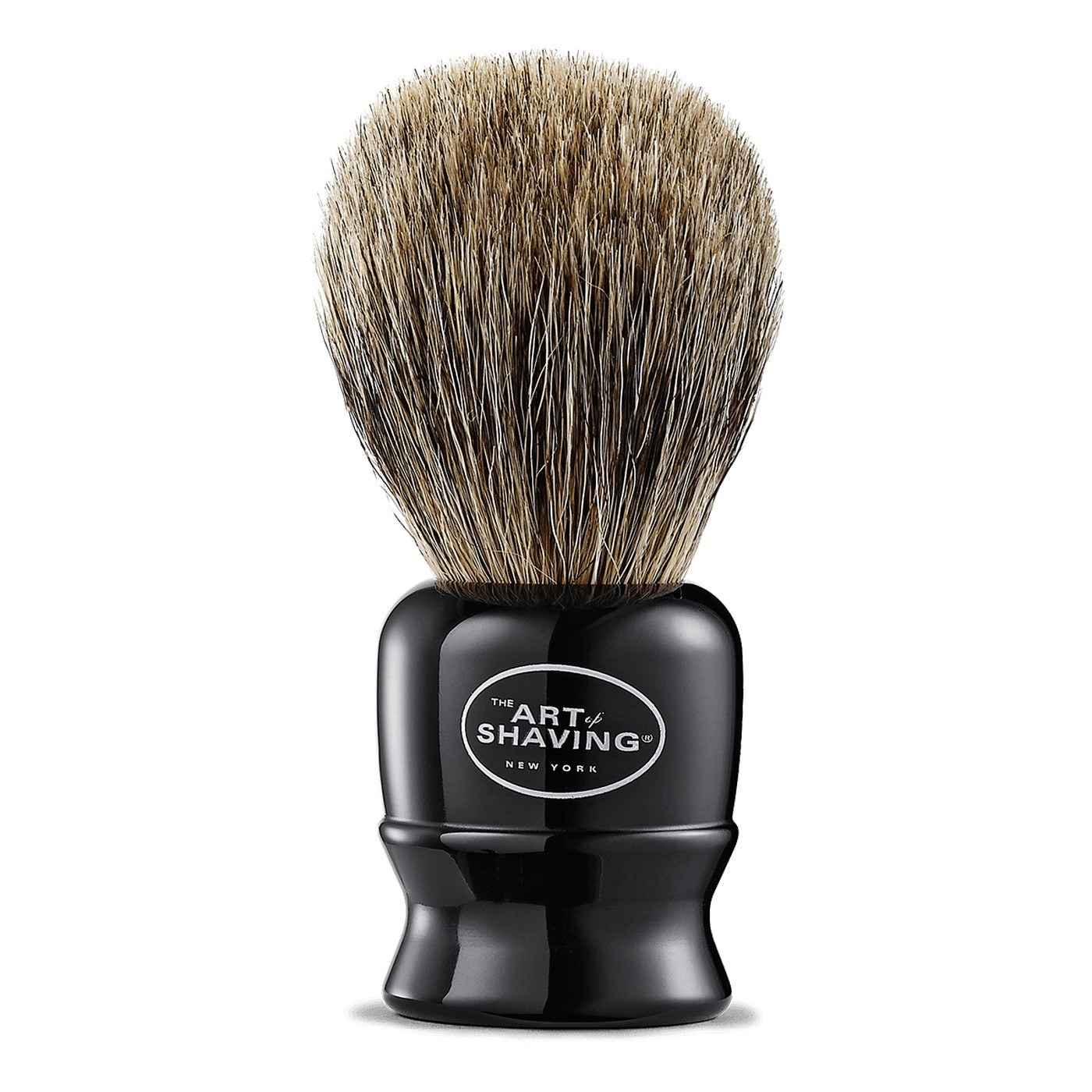 TRAVEL BRUSH PURE BLACK